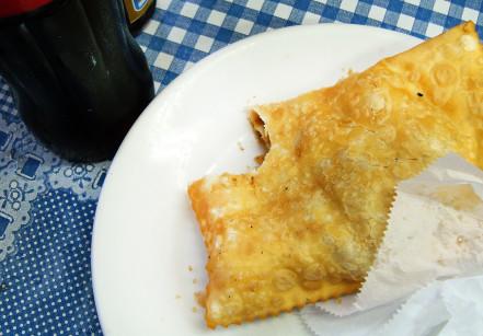 Pastel do Café Carioca