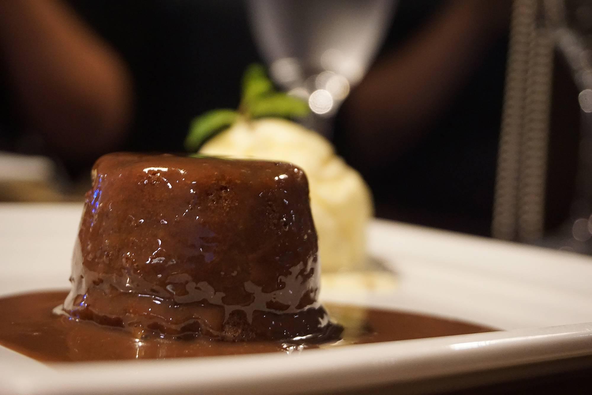 www.juicysantos.com.br - petit gateau do restaurante da franco