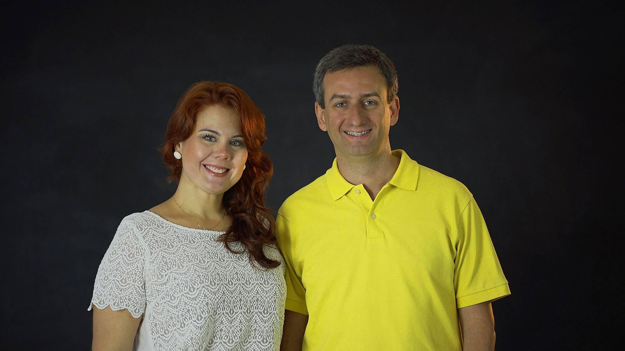 Ludmilla Rossi e Mauricio Matias