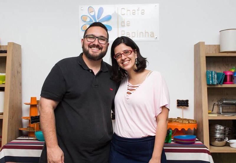 Casais que trabalham juntos - A história da Chefe de Papinha
