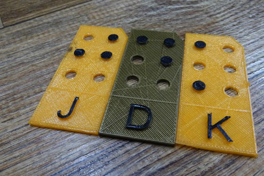 www.juicysantos.com.br - Impressoras 3D para crianças cegas
