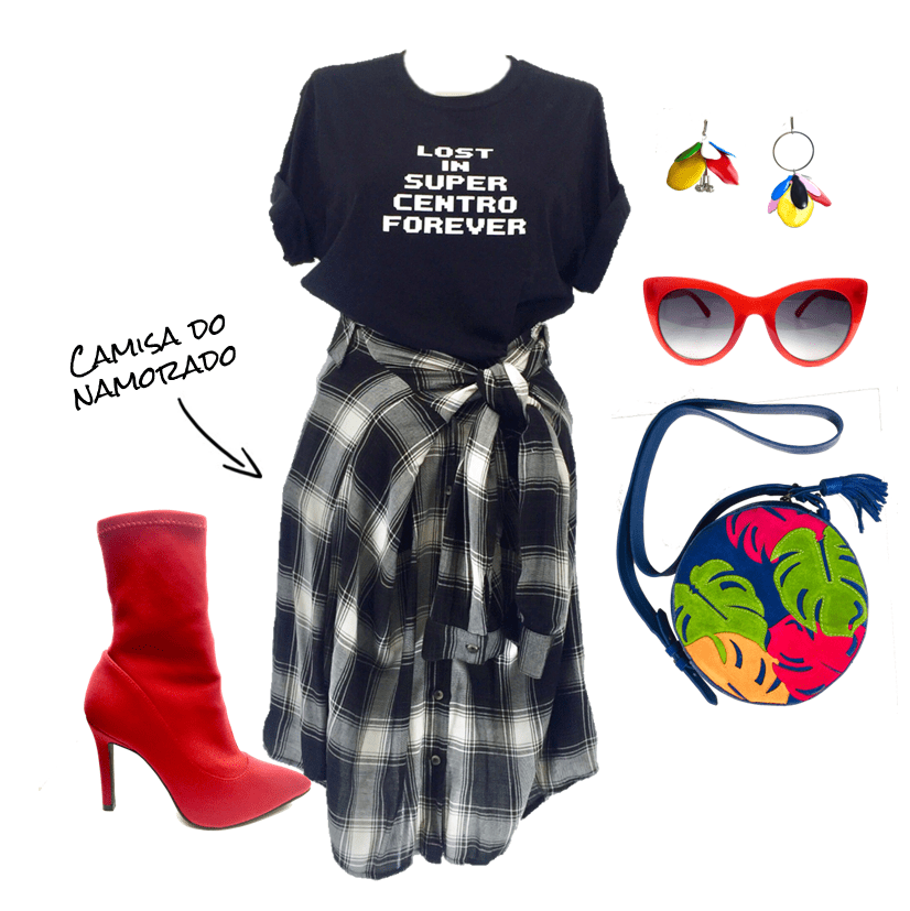 www.juicysantos.com.br - camiseta do juicy como usar look ootd