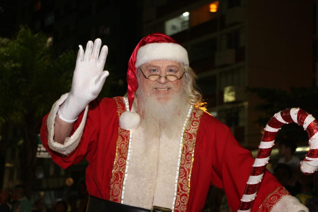www.juicysantos.com.br - Chegada doPapai Noel em Santos 2018