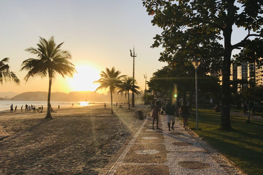www.juicysantos.com.br - pôr do sol em santos