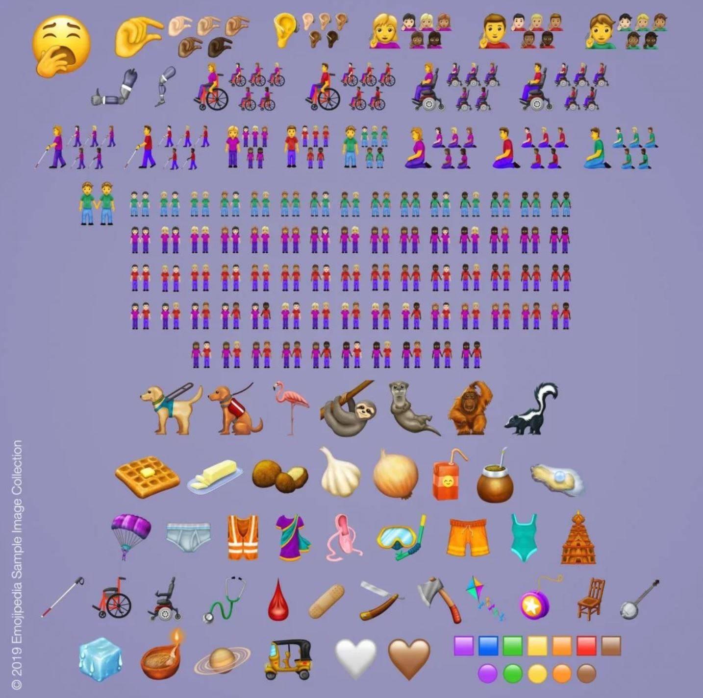 www.juicysantos.com.br - novos emojis lista de 2019