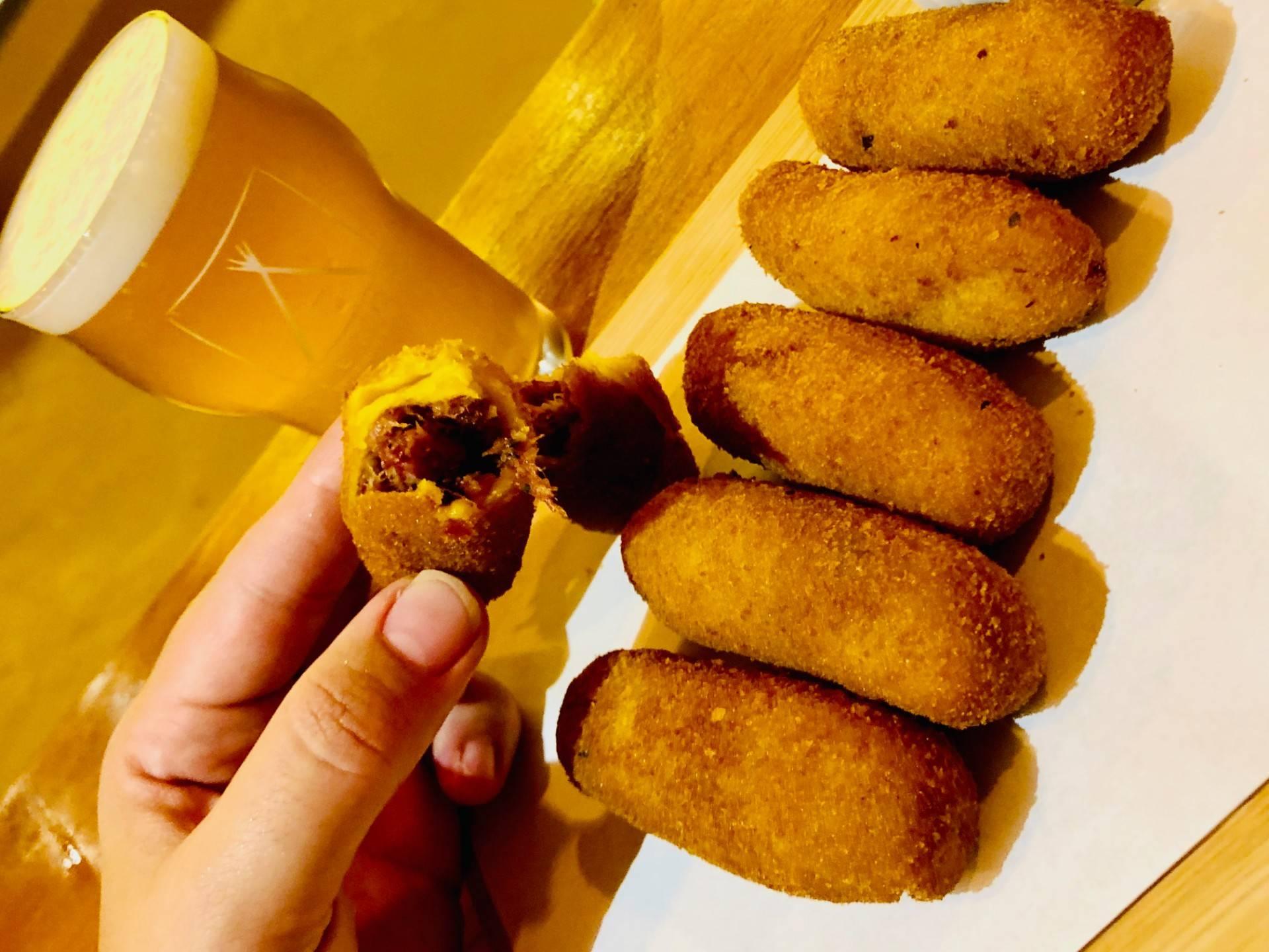 www.juicysantos.com.br - bolinho de carne seca tekoa cervejaria