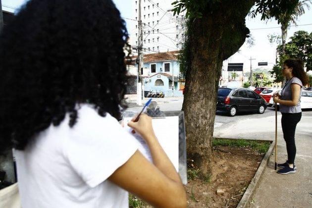 juicysantos.com.br - Censo de árvores de Santos