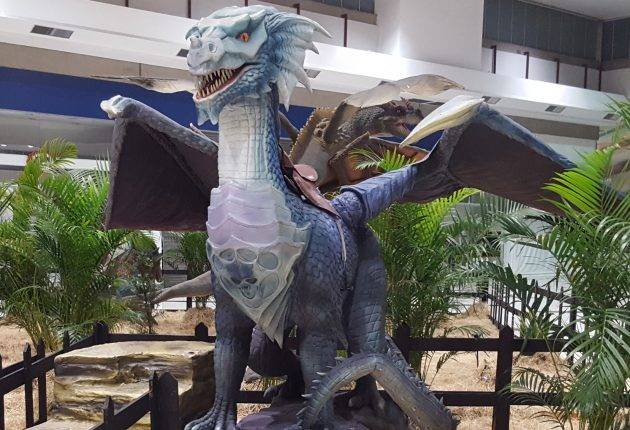 www.juicysantos.com.br - exposição internacional dragões no shopping parque balneário em santos