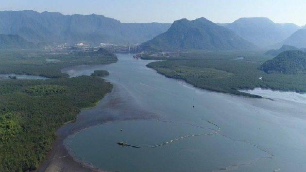 juicysantos.com.br - Documentário sobre cava subaquática de Cubatão