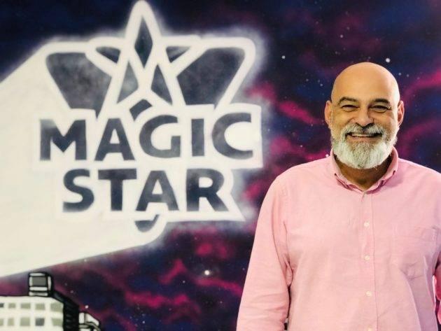 Magic Star e seu fundador, João Feijó