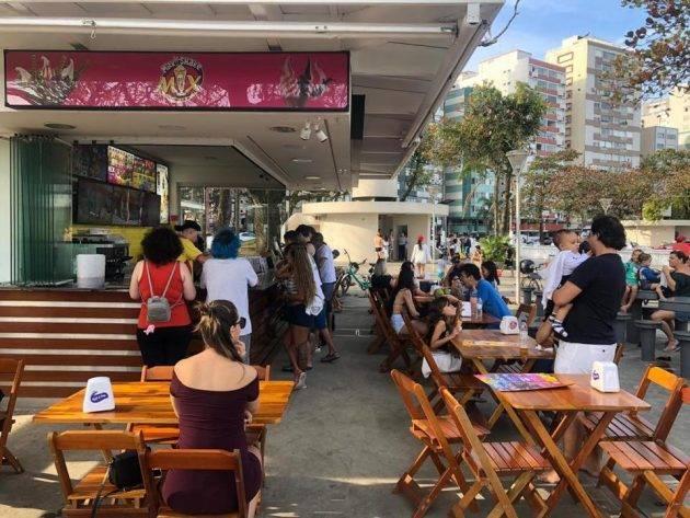 juicysantos.com.br - Opções diferentes de quiosques em Santos