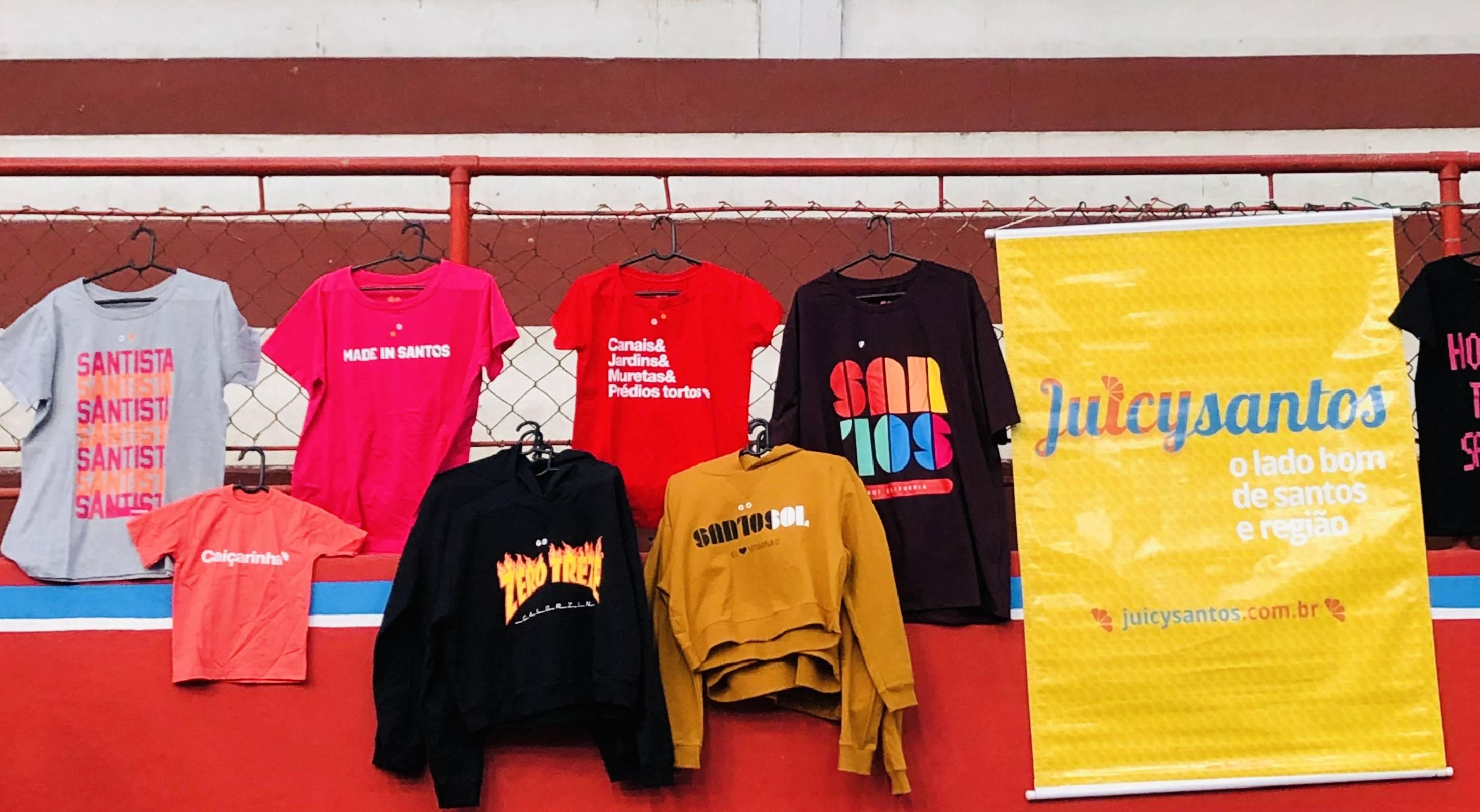 www.juicysantos.com.br - camisetas do juicy santos no encontro de criadores