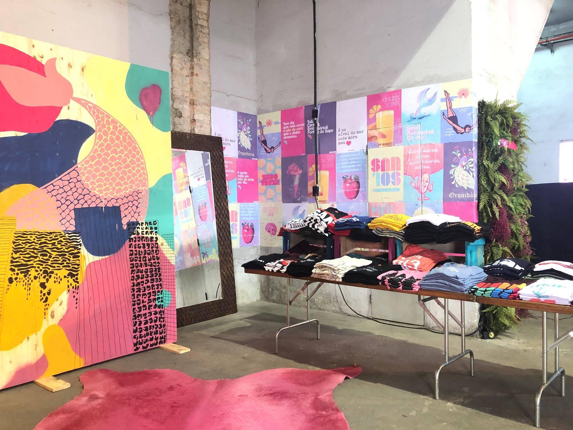 www.juicysantos.com.br - yanaina interiores designer de interiores em santos projeto de estande de vendas para juicy santos