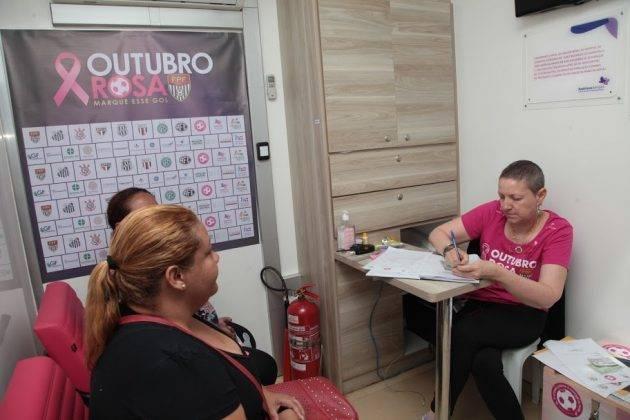 juicysantos.com.br - caminhão de mamografia em Santos