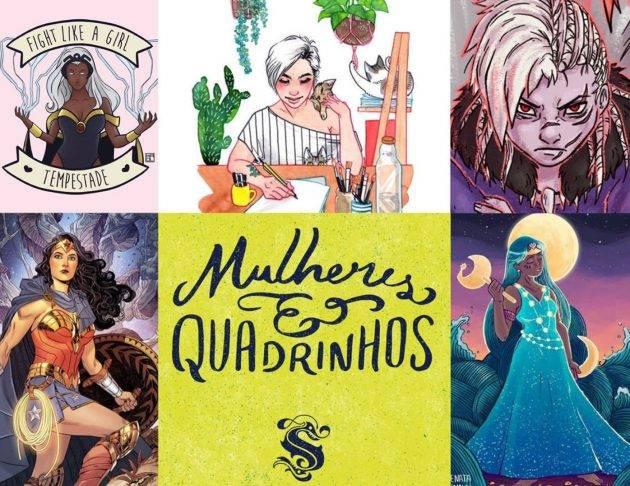 www.juicysantos.com.br - livro mulheres e quadrinhos onde estão as mulheres nerds de santos