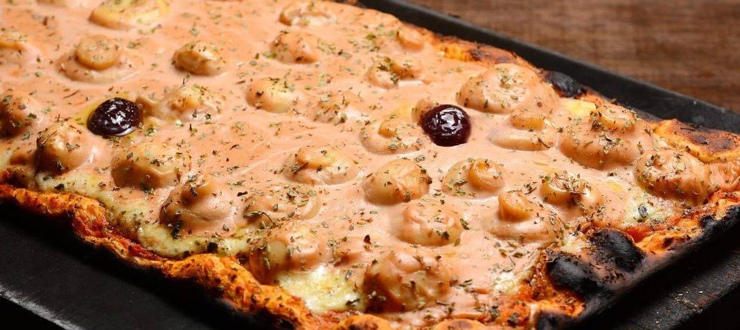 www.juicysantos.com.br - pizza de champignon da graminha pizzaria em santos