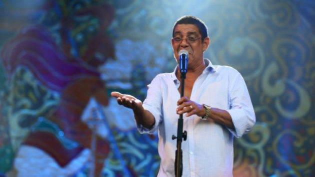 juicysantos.com.br - Zeca Pagodinho no aniversário de Santos