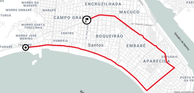 juicysantos.com.br - caravana de natal da Coca-Cola em Santos e São Vicente
