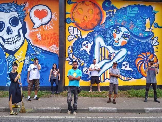 juicysantos.com.br - mural da perimetral