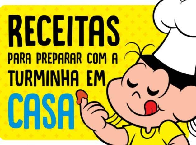 juicysantos.com.br - Na cozinha com a Turma da Mônica