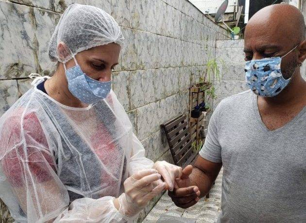 www.juicysantos.com.br - testes de coronavírus na Baixada Santista