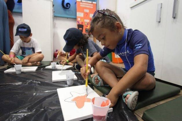 juicysantos.com.br - Cursos de férias do aquário serão online