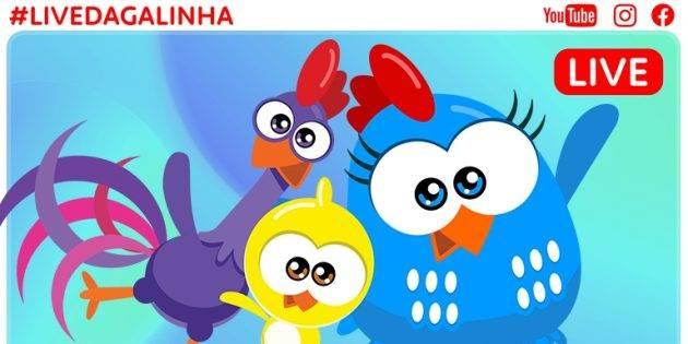 juicysantos.com.br - Live da Galinha Pintadinha