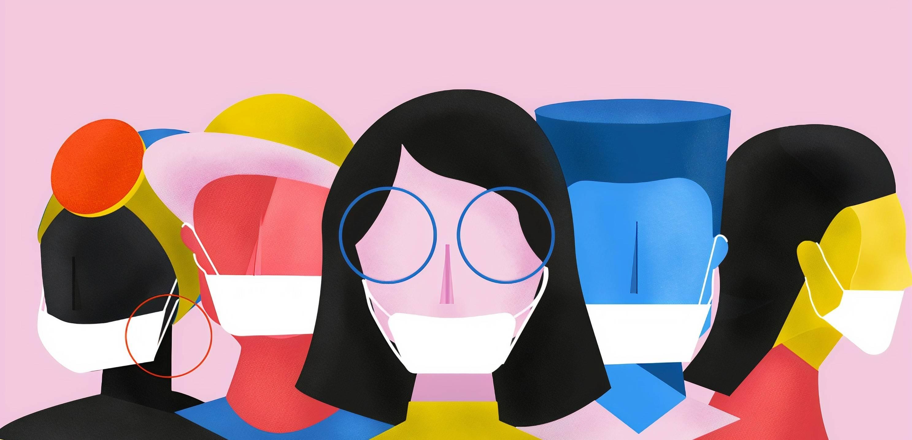 www.juicysantos.com.br - qual é o uso correto das máscaras 55% dos santistas não sabem