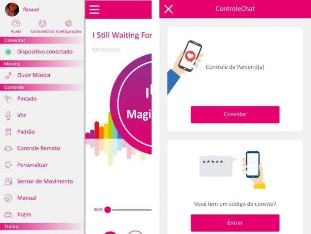 www.juicysantos.com.br - como funciona o aplicativo para controlar vibrador à distância