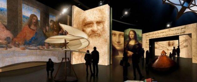 juicysantos.com.br - exposição digital de Leonardo da Vinci