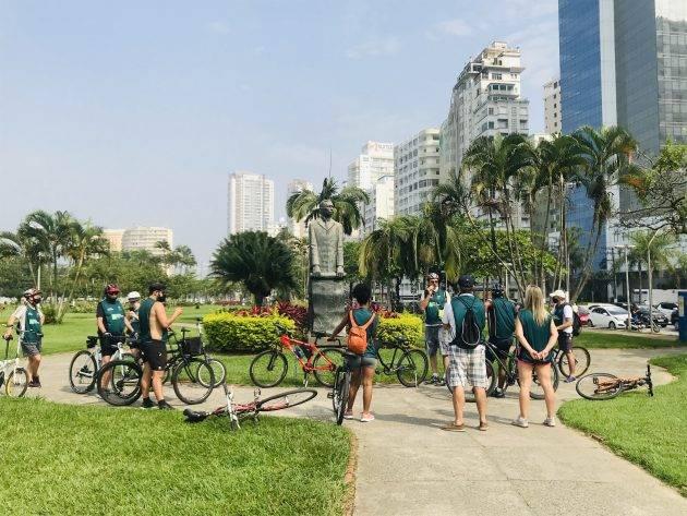 juicysantos.com.br - Passeio turístico de bicicleta em Santos