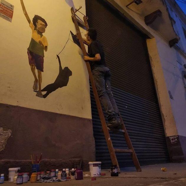 juicysantos.com.br - exposição de arte a céu aberto em Santos