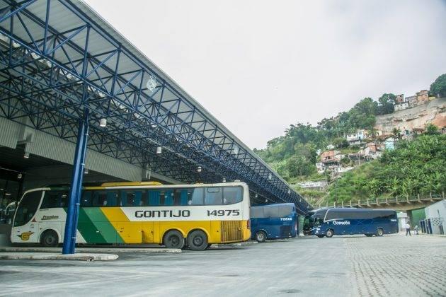 juicysantos.com.br - reforma na rodoviária de Santos
