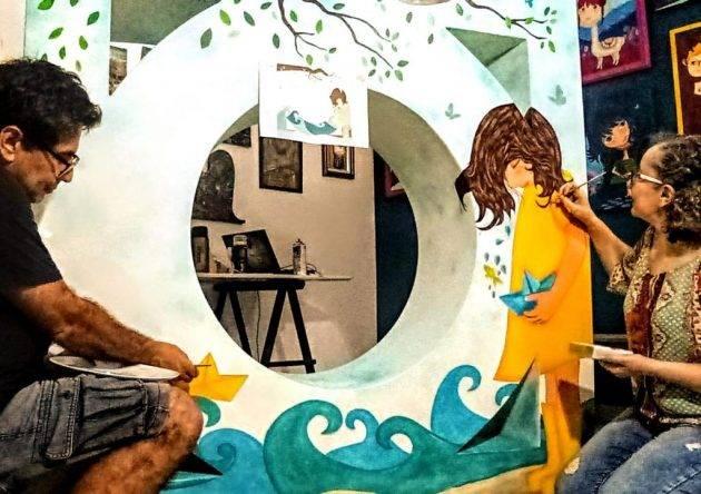 juicysantos.com.br - As muretas coloridas de Santos