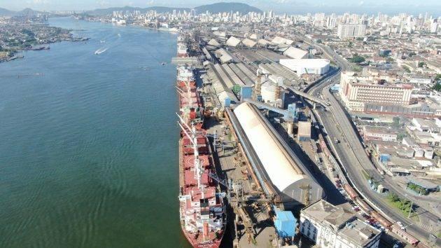 www.juicysantos.com.br - fotos do porto de santos - divulgação SPA