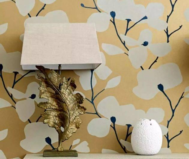 www.juicysantos.com.br - dourado na decoração - dicas com papel de parede dourado