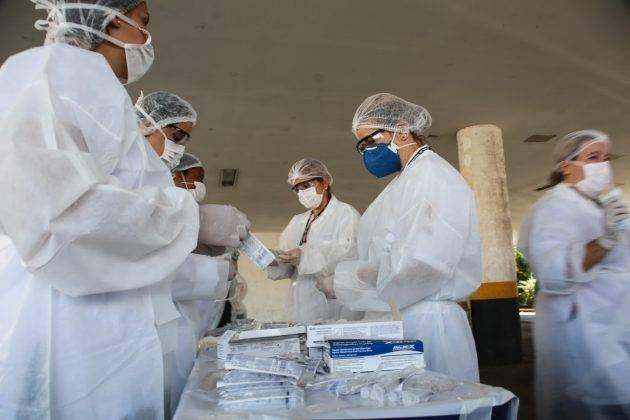 juicysantos.com.br - vacinação contra a gripe em Santos