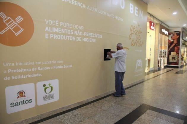 juicysantos.com.br - doações na pandemia em Santos