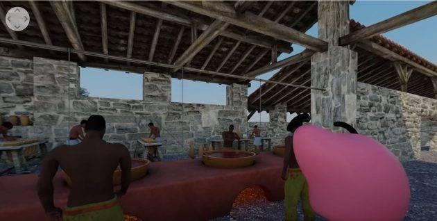 www.juicysantos.com.br - reprodução de um engenho de açúcar em vídeo 360 engenho dos erasmos em santos sp